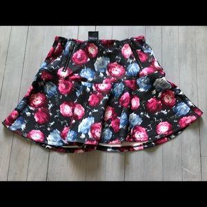 Abercrombie Kids Floral Skater Skirt